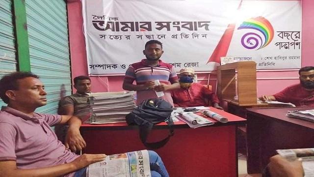 গাইবান্ধা জেলা প্রেসক্লাব এর মাসিক কল্যাণ সভা অনুষ্ঠিত