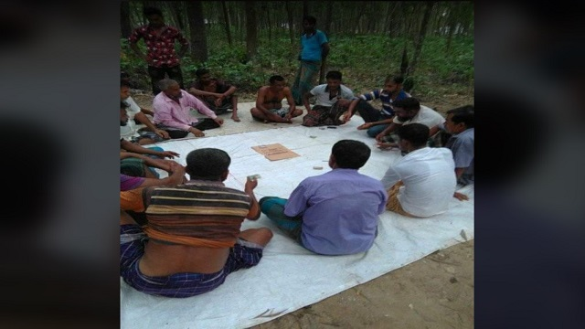 চুনারুঘাটের জুয়ার আসরের একটি ভিডিও ঘুরপাক খাচ্ছে সামাজিক যোগাযোগ মাধ্যমে, আতঙ্কে সাধারণ জনতা