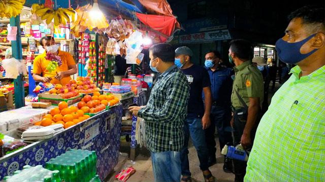 কুমারখালীতে ইউএনও'র আকস্মিক অভিযান, ১৪ জনকে জরিমানা
